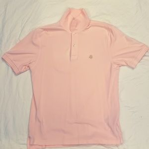 Lacoste Pink Polo Regular Fit Size Small